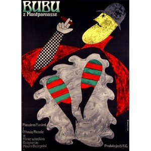 Bubu, Polish Movie Poster