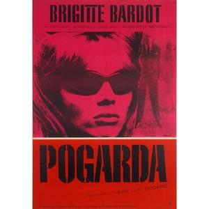 Contempt, Polish Movie Poster