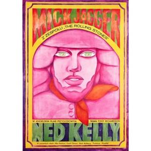 Ned Kelly, Polish Movie Poster