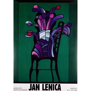 Jan Lenica, Exhibition Poster