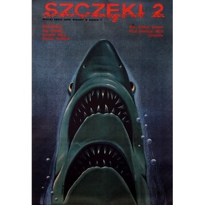 Jaws 2, Polish Movie Poster