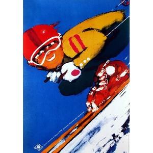 Ski Sport, Polish Poster