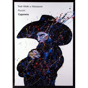 La Boheme, Polish Opera Poster