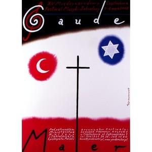 Gaude Mater, Polish Poster