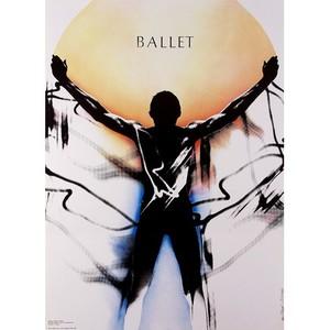 Ballet, Polish Poster