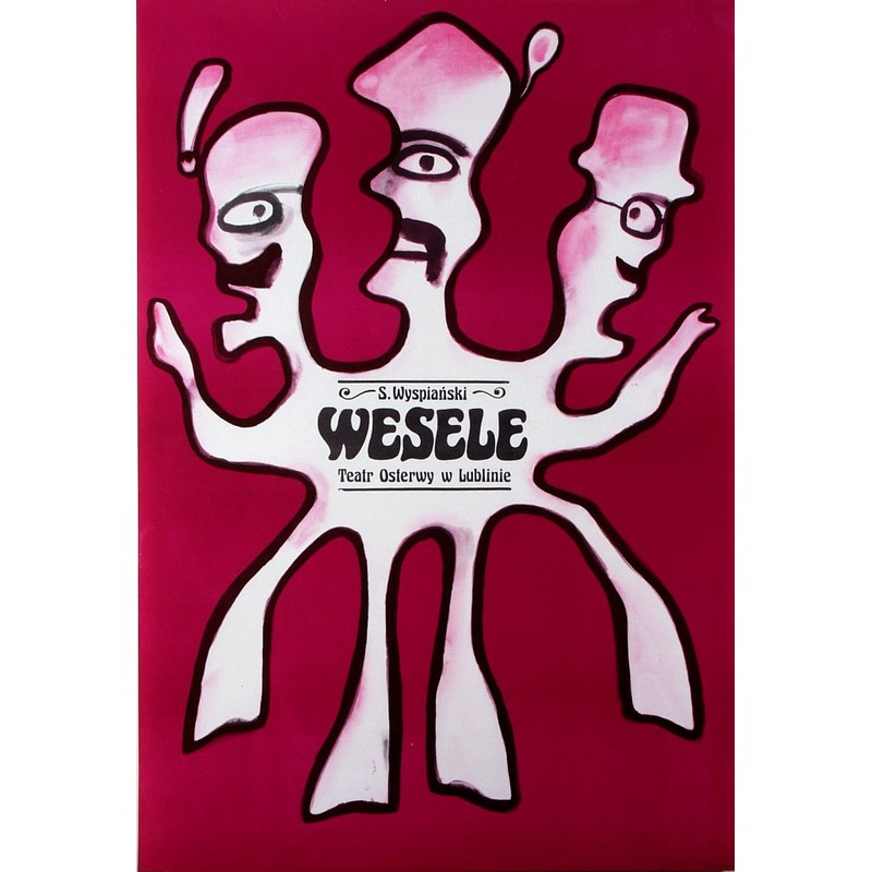 Wesele The Wedding Polish Theater Poster