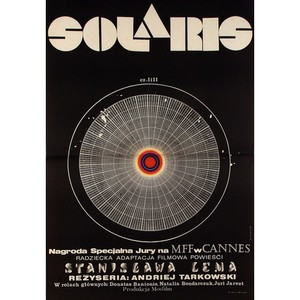 Solaris, Polish Movie Poster