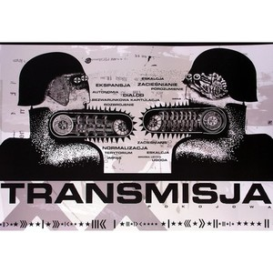 Transmisja, Polish Poster