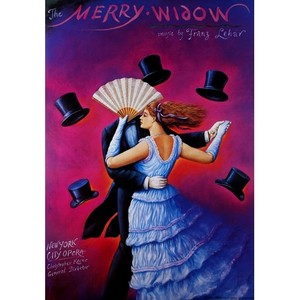 Merry Widow - Lehar, Polish...