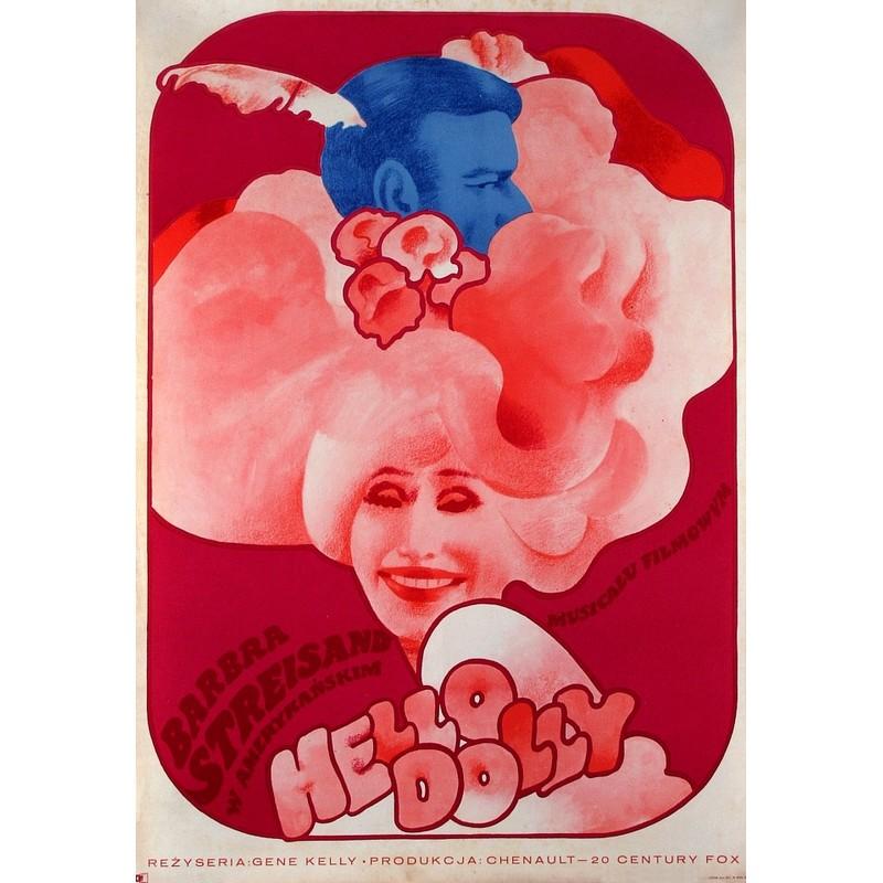 hello dolly polish movie poster