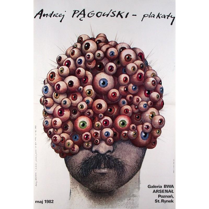 Andrzej Pagowski Plakaty Polish Exhibition Poster