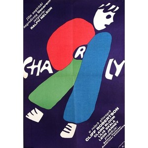 Charly, Polish Movie Poster