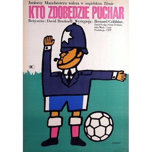 Cup Fever, Polish Movie Poster