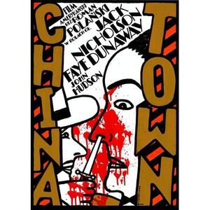 ChinaTown, Polish Poster