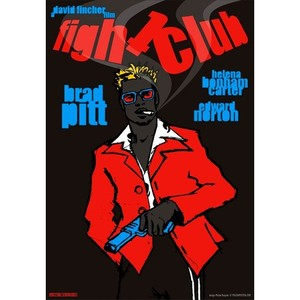 Fight Club, Brad Pitt,...