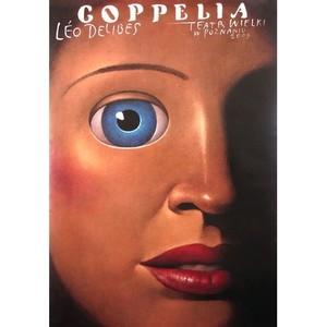 Coppelia, Polish Ballet Poster