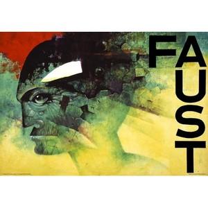 Faust, Goethe, Polish Poster
