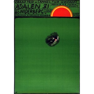 Adalen 31, Polish Movie Poster