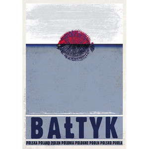 Bałtyk, polski plakat...