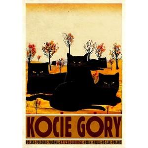 Kocie Góry, polski plakat...