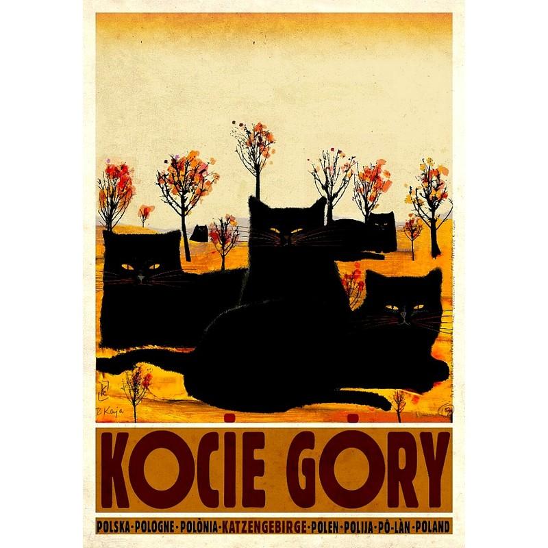 Kocie Góry Polski Plakat Turystyczny
