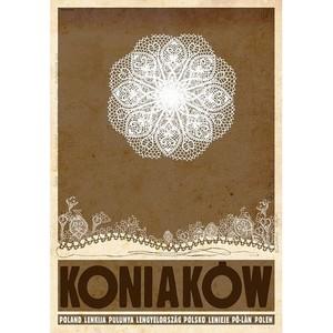 Koniaków, polski plakat...