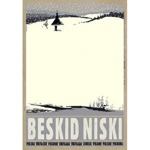 Beskid Niski, polski plakat...