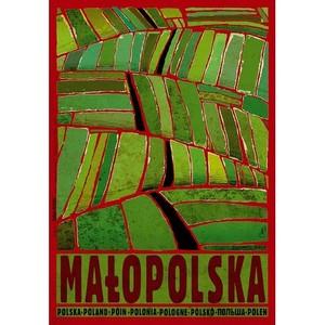 Małopolska, polski plakat...