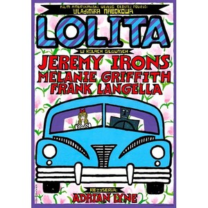 Lolita, Polish Movie Poster