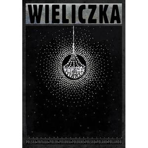 Wieliczka, polski plakat...