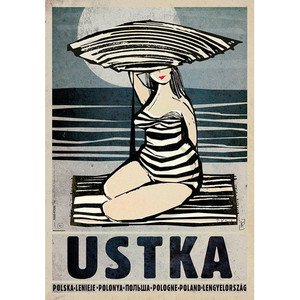 Ustka, Polish Promotion Poster