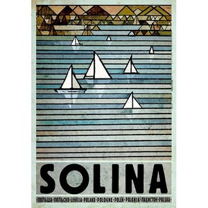 Solina, polski plakat...