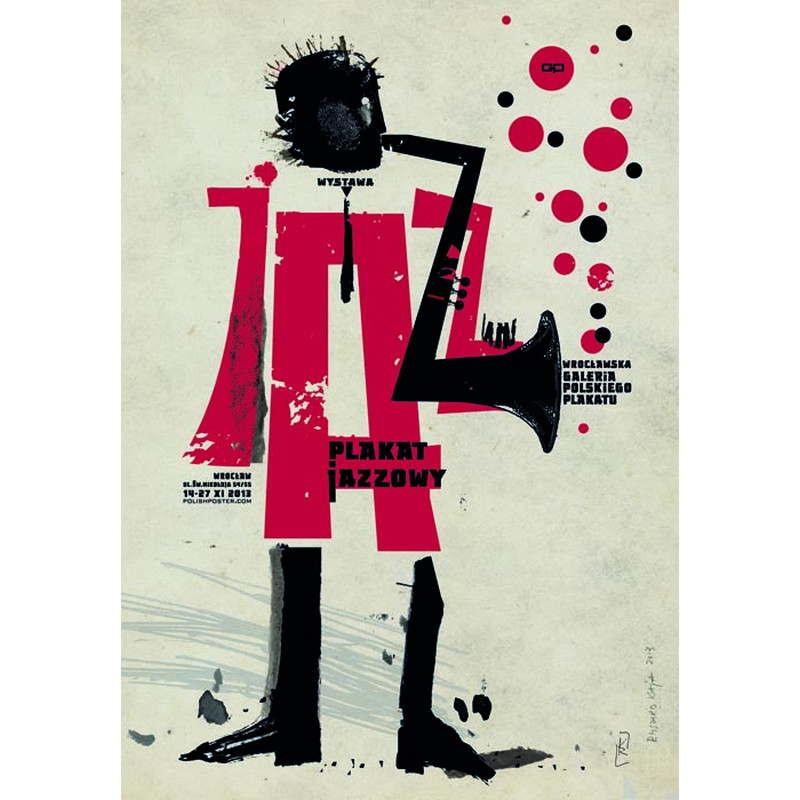 Jazz Posters Exhibition Polish Poster