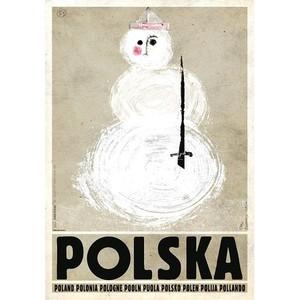 Polska, bałwan, polski...
