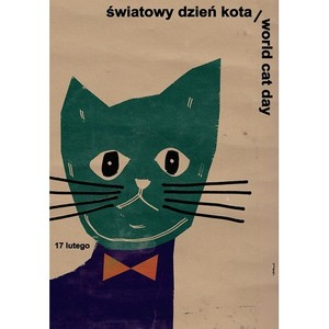 World Cat Day, Polish Poster