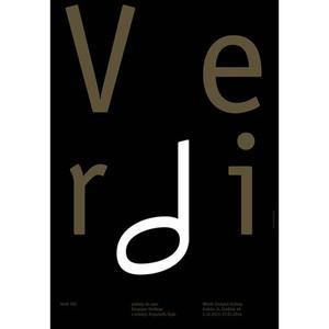 Verdi, Polish Poster