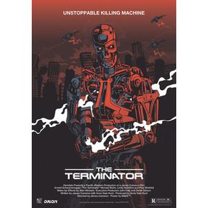 The Terminator, Polish Poster