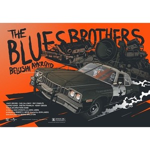 Blues Brothers, plakat filmowy