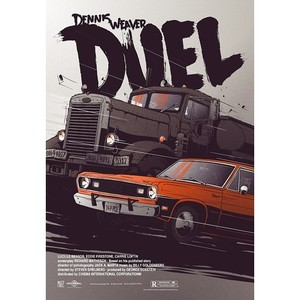 Duel, Spielberg, Polish Poster