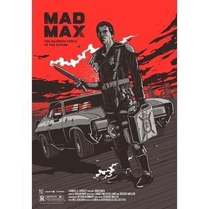 Mad Max, plakat filmowy