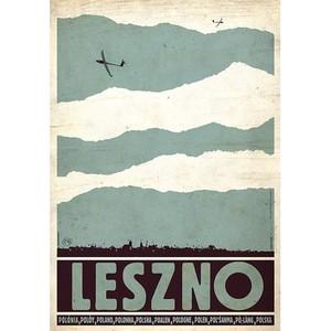 Leszno, Szybowce, Plakat...