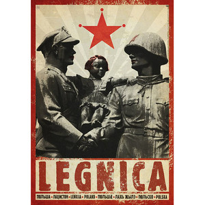 Legnica, plakat z serii...