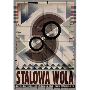 Stalowa Wola, plakat z...