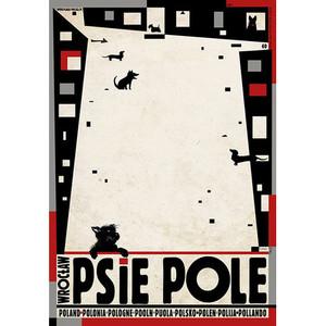 Psie Pole, Wrocław,  plakat...