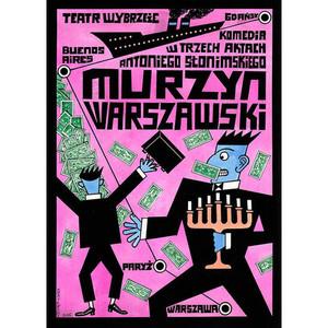 Murzyn Warszawski, plakat...
