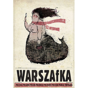 Warszafka, plakat z serii...