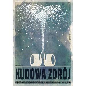 Kudowa Zdrój, plakat z...