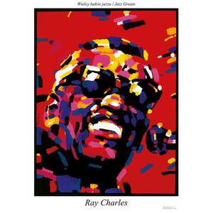 Ray Charles, plakat z serii...