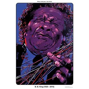 B. B. King, plakat z serii...