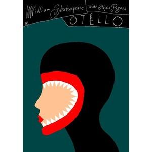 Otello, Plakat teatralny,...